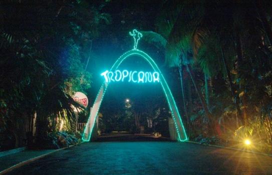 Entrata al carbaret tropicana