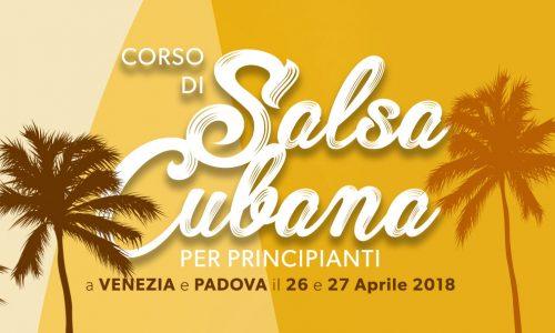 corso salsa cubana principianti aprile