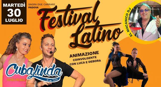 festival latino con animazione cubalinda