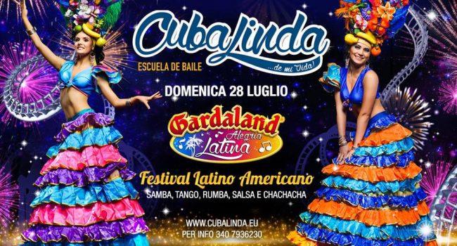 giornata a gardaland durate l'evento a tema latino americano con cubalinda